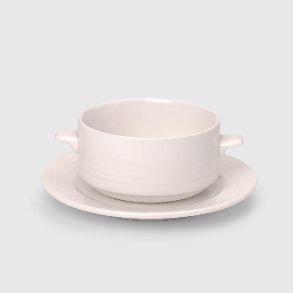 Design Rondo Cream Soup Bowl 30cl Lugged